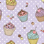 Retro Sweets Pattern