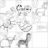 Coloring Book With Alphabet 3