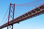 April 25Th Bridge In Lisbon, Portugal