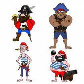 Four Pirates