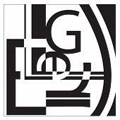 Typografie l e g e r collage