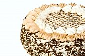 Birthday Cake With Custard