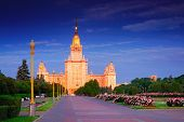 Moscow state university. Moscow.