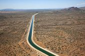 stock photo of pima  - Central Arizona Project  - JPG
