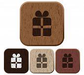 Set of giftbox icons.