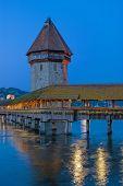 Chapel Bridge,Lucerne,Switzerland