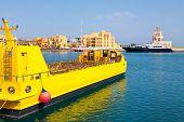 Marina. El Gouna, Egypt
