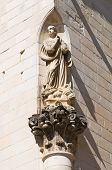 Immaculate column. Lecce. Puglia. Italy.