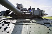 ZHUKOVSKY - JUNE 25: Turret at second International Forum Engineering Technologies 2012, on June 25,