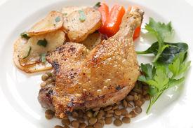image of canard  - confit de canard - JPG