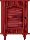 Dresser Red