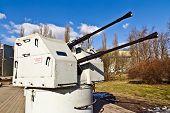Soviet Shipboard Artillery Mount 2M-3M
