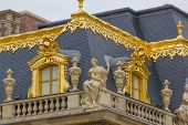 picture of versaille  - Details of the Versailles palace in Paris France - JPG