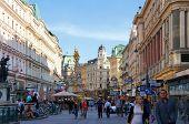 Graben Street view Vienna, Austria