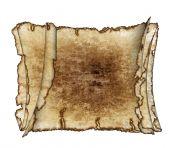 Three  Rough Antique Parchment Paper Scrolls