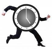 picture of running-late  - Running late - JPG