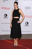 LOS ANGELES - DEC11:  Edy Ganem arrive to Women in Entertainment Breakfast 2013  on December 11, 2013 in Hollywood, CA