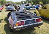 1981 Delorean Rear View