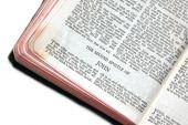 Bíblia aberta para John Epístola Ii