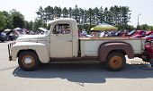 1952 International L-120 Truck Side View