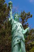 Falce Small Copy Statuette Of Statue Of Liberty