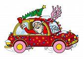 Santa Claus Driver