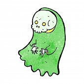 cartoon spooky ghoul