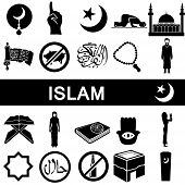 Icons for islam