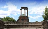 Ruins of Pompei, near Naples, Italy
