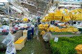 Bangkok - August 03 : Flower Market Name