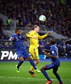 Fifa World Cup 2014 Qualifier Game Ukraine Vs France