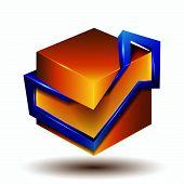 3D Symbol Creative Design