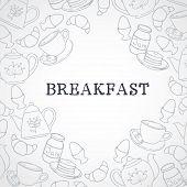 Breakfast border