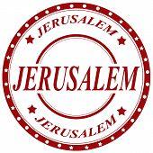 Jerusalem-stamp
