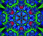 Decorative fractal pattern