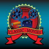Classic movies badge