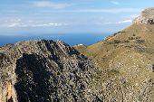 Serra de Tramuntana - mountains on Mallorca Spain