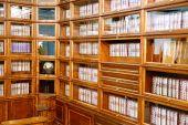 Row Of Books On A Shelves