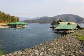 picture of houseboats  - Houseboat In  Mae Ngad Dam - JPG