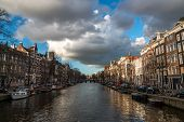Amsterdam city canal