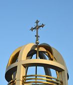 Cross On The Orthodox Church