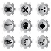industry tools icons
