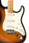 stock photo of stratocaster  - Guitar body  - JPG