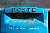 Italian Mailbox For International Mail