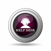 image of helpdesk  - Helpdesk icon - JPG