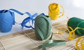 Party Ribbons And Place Setting