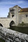 Leeds Castle Moat Bridge Kent