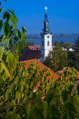panoramic view of Zemun, Belgrade