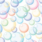 Color bubbles. Seamless background