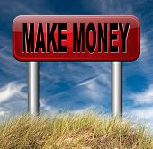 money making earning easy money and cash